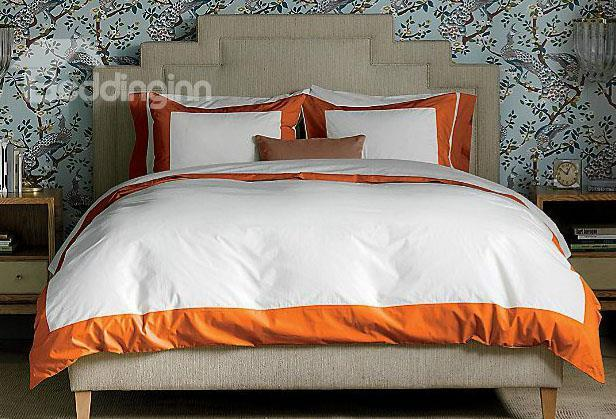 New Arrival 100%Cotton Satin Drill 4-Piece Duvet Cover Sets