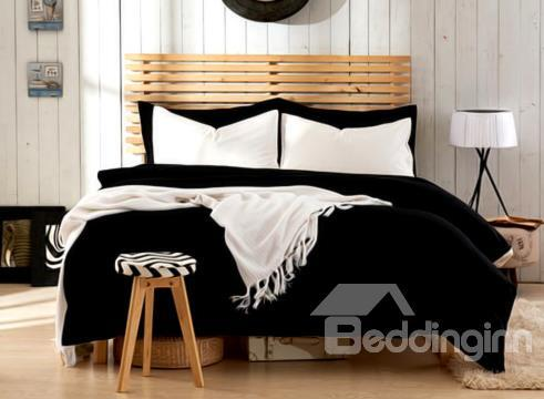 Minimalist Pure Color 4-Piece Duvet Cover Sets