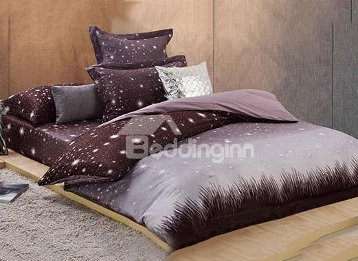 New Arrival Gorgeous Romantic Stars Cotton 4-Piece Bedding Sets