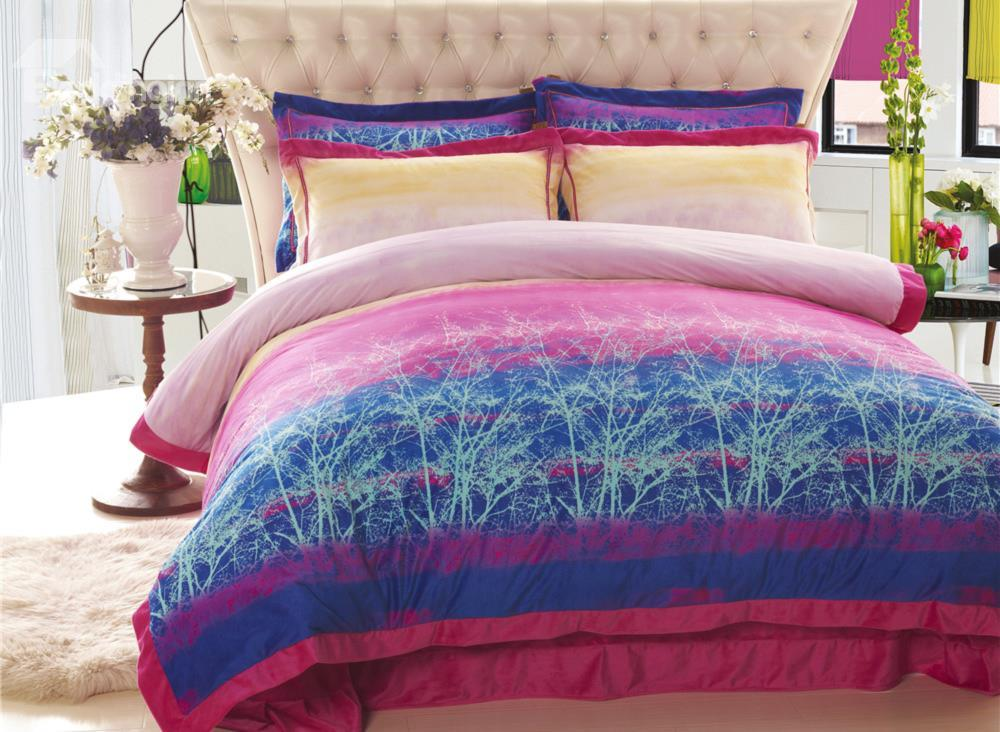 Splendid Colorful 4 Piece Bedding Sets/Duvet Cover Sets
