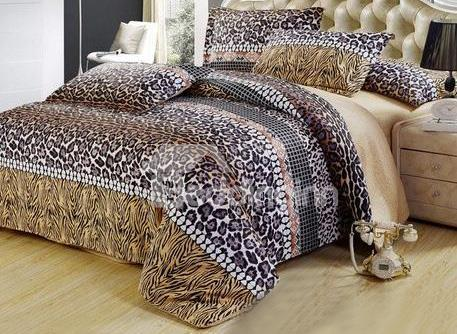 Fantastic Masculine Leapord Dots 4 Piece Bedding Sets