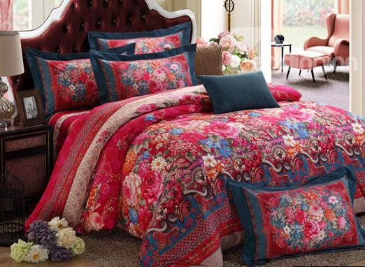 New Arrival European Style Warm Winter Duvet Cover Sets