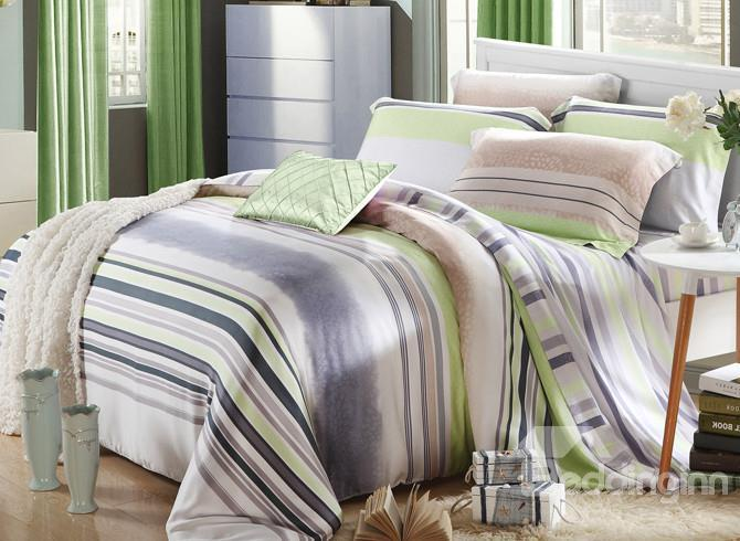 High Quality Beautiful 4 Pieces Tencel Bedding Sets