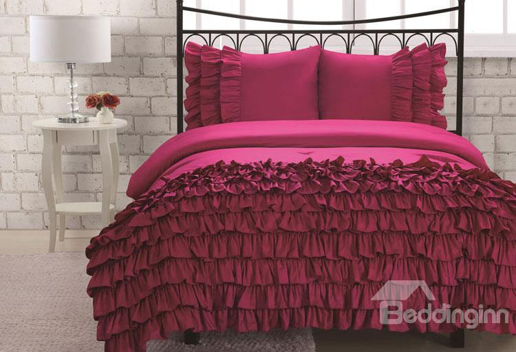 New Arrival 100%Cotton Sleeping Beauty 4-Piece Duvet Cover Sets